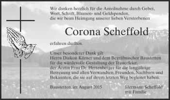 Zur Gedenkseite von Corona