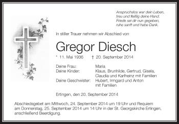 Zur Gedenkseite von Gregor