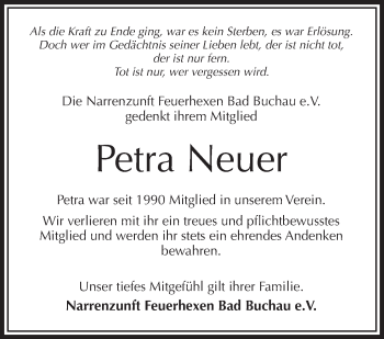 Zur Gedenkseite von Petra