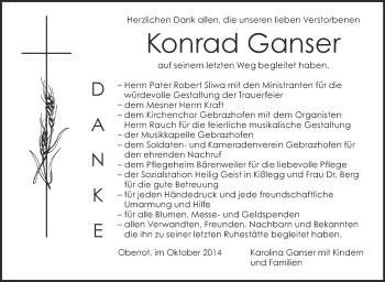 Zur Gedenkseite von Konrad