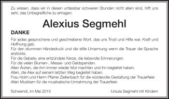 Zur Gedenkseite von Alexius