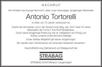 Zur Gedenkseite von Antonio